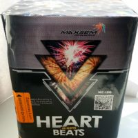 Батарея салютов Heart Beats mc 100 фейерверк в минске