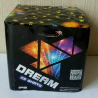 батарея салютов «DREAM» GP498 устройте для себя праздник прямо сейчас!
