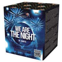 батарея салютов WE ARE THE NIGHT GP497/2 серебряная хризантема
