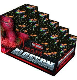 батарея салютов DREAM BLOSSOM MC130 красивый разнокалиберный салют