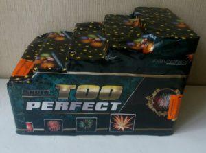 Батарея салютов TOO PERFECT GWM6605 на юбелей корпаротив и тд
