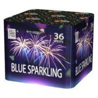 Батарея салютов BLUE SPARKLING