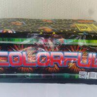 Батарея салютов COLORFUL MC 121 - Купить фейерверк в Минске