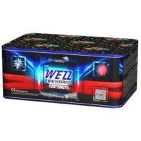Батарея салютов WEZZ MC 127 купить в минске бесплатной с доставкой